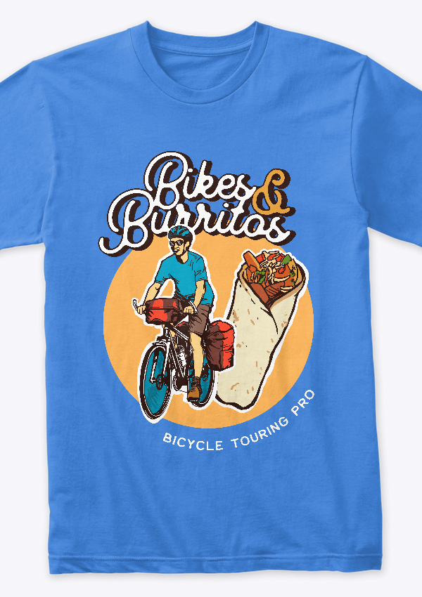 Bikes & Burritos T-shirt