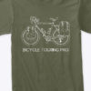 Product-Touring Bicycle Shirt Green 1