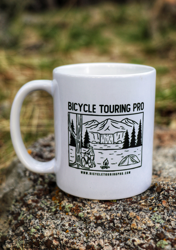 Bicycle Touring Pro Wild Camping Coffee Cup