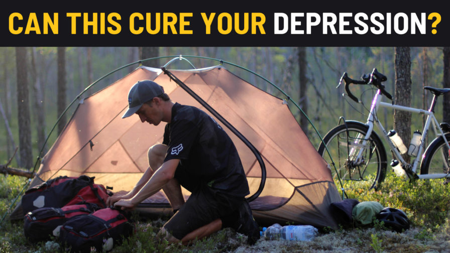 Can Bicycle Touring Cure Depression?