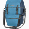 ortlieb bike packer plus waterproof bicycle panniers blue front