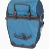 ortlieb bike packer plus waterproof bicycle panniers blue rear