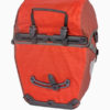 ortlieb bike packer plus waterproof bicycle panniers red rear