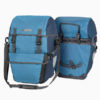 pair of ortlieb bikepacker plus panniers blue