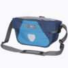 ortlieb ultimate 6 5 liter handlebar bag-blue