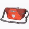 Ortlieb ultimate 6 red handlebar bag 5 liter bicycle bag