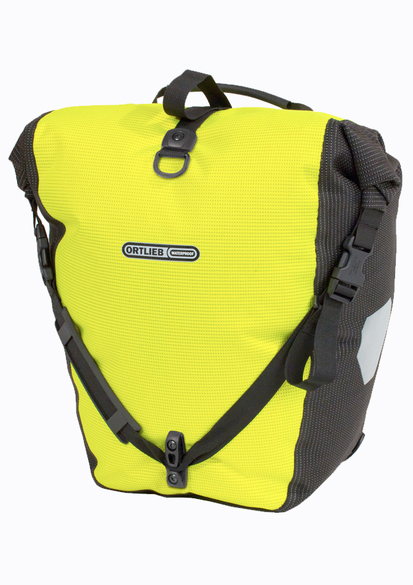 High Vis Reflective Bicycle Panniers