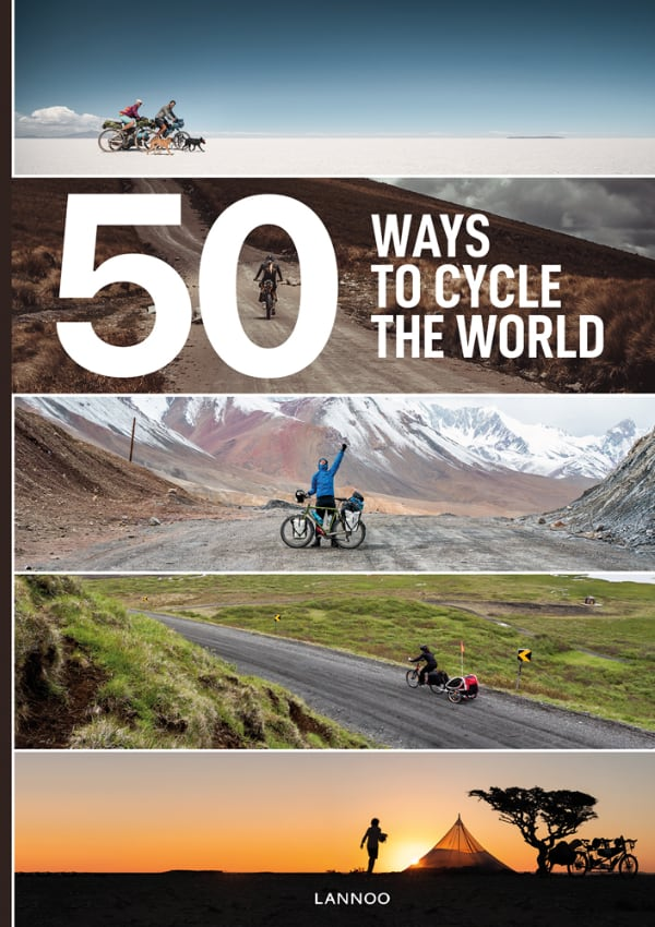 50 Ways to Cycle the World - Front Cover of the Book