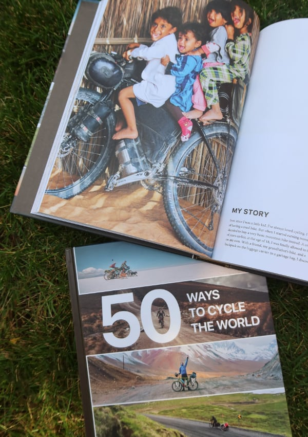 50 Ways to Cycle the World - children on bikes