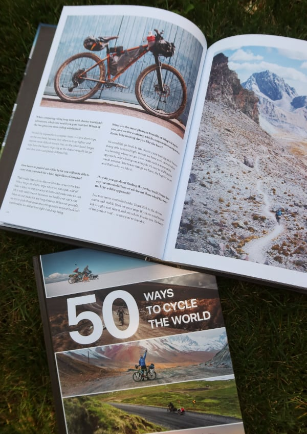 50 Ways to Cycle the World - interior photographs bike packing