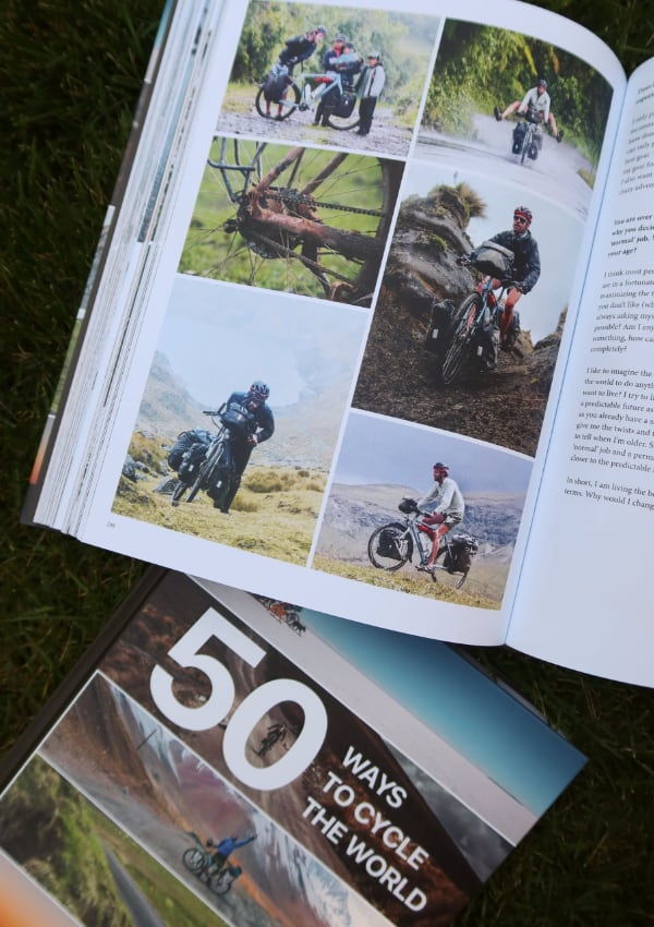 50 Ways to Cycle the World - interior photos South America